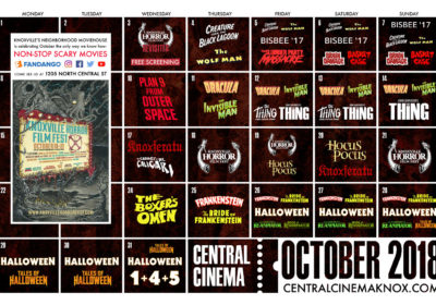 October is jam-packed at Central Cinema!
